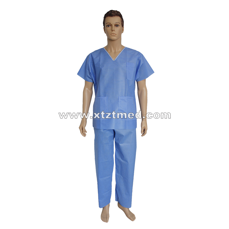 SMS NonWoven Scrub Suits