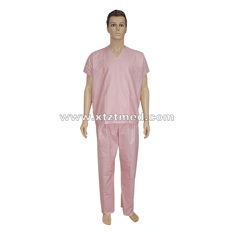 Spunlace NonWoven Scrub Suits
