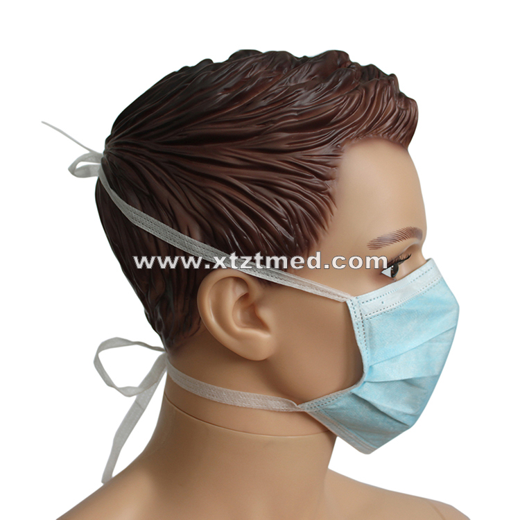 3-Ply Face Mask With Ties